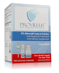 Provillus Hair Loss Treatment Men