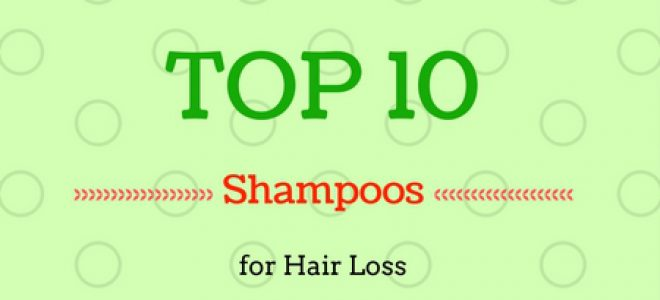 Top 10 Shampoo for Hair Loss