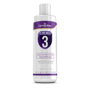 Lipogaine Big 3 Shampoo Purple Label (New)