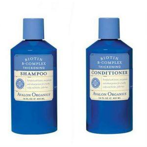 avalon organics thickening shampoo - old